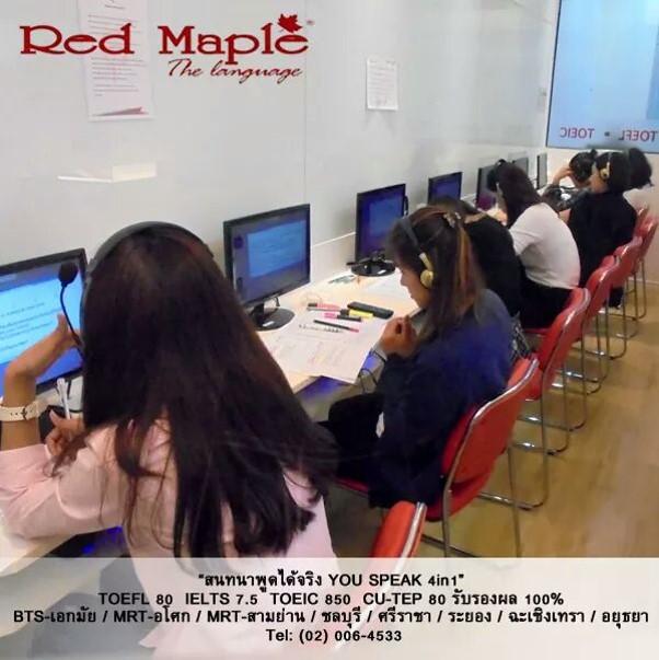 เรียนแกรมม่าออนไลน์/สด กับคอร์สติวแกรมม่าที่ดีที่สุดของRed Maple