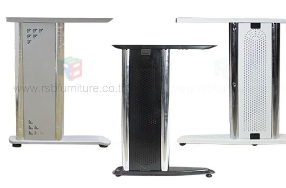 โต๊ะคอมพิวเตอร์ ขาเหล็กปั้มเงา มีขนาด W80,120,150,180,200,240 CM รหัส 2224 - คลิกที่นี่เพื่อดูรูปภาพใหญ่
