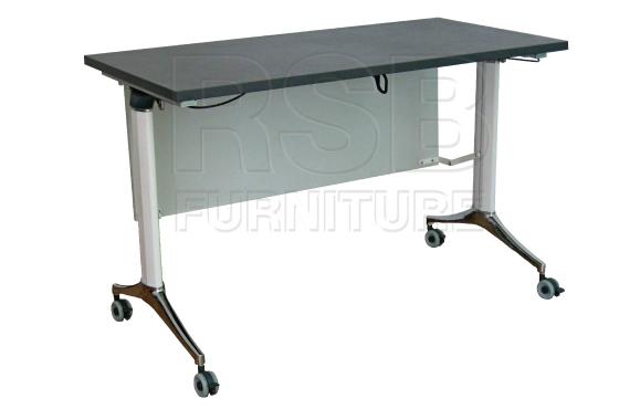 โต๊ะพับล้อเลื่อน โครเงหล็กหนา รหัส 2859 - คลิกที่นี่เพื่อดูรูปภาพใหญ่