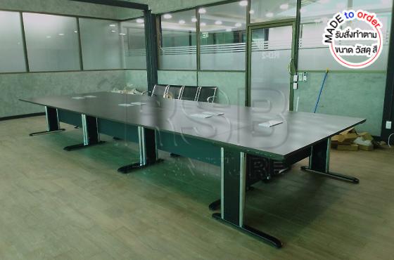 โต๊ะประชุม ขาเหล็ก รหัส 2896 - คลิกที่นี่เพื่อดูรูปภาพใหญ่