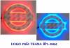 LOGO มีไฟ หลัง TEANE สีฟ้า-แดง