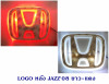 LOGO มีไฟ หลัง HONDA JAZZ 2008 ขาว-แดง มีไฟ