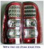 ไฟท้าย TOYOTA VIGO 2005 เบ้าแดง เลนส์ใส (EAGLE EYES) โตโยต้า วีโก้ 2005