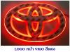 LOGO มีไฟ หน้า TOYOTA VIGO,FORTUNER 2005 สีแดง