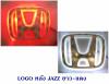 LOGO มีไฟ หลัง HONDA JAZZ เก่า 2007 ขาว-แดง มีไฟ