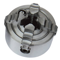 10025A 4-jaw chuck ¢125mm with flange