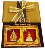 เซ็ทเข็มกลัดพระพุทธชินราช และหลวงพ่อโสธร พร้อมกล่องผ้าไหม