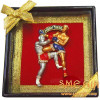 Thai Boxing brooch