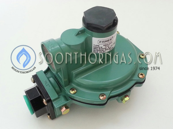 LOW-PRESSURE REGULATOR FISHER รุ่น FS 622DFF.