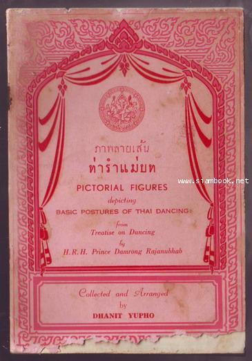 ภาพลายเส้นท่ารำแม่บท (Pictorial Figures depicting Basic Postures of Thai Dancing)-รอชำระเงิน 243250-