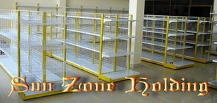 ชั้นโชว์สินค้า( shelves for supermarket)