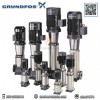 Grundfos - ปั๊มน้ำแรงดันสูงหลายใบพัดแนวตั้ง รุ่น CRN10-06
