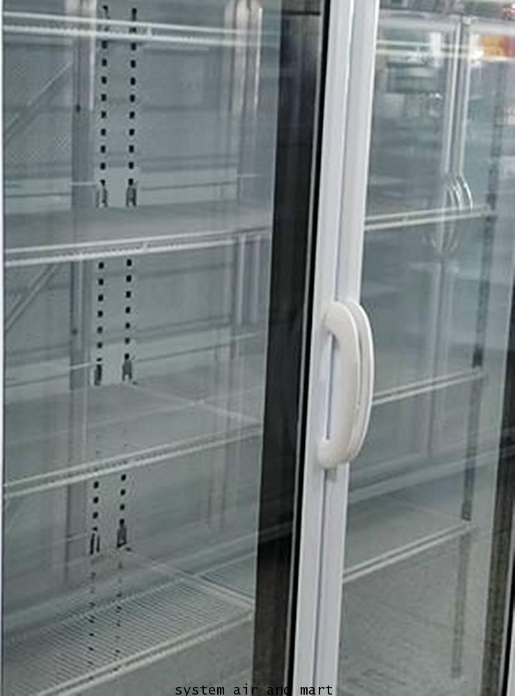 มือจับประตูตู้แช่สีขาว - คลิกที่นี่เพื่อดูรูปภาพใหญ่