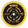 DEWALT : DWTDW3196* ใบตัด 7-1/4-Inch. 60T Precision Finishing Saw Blade
