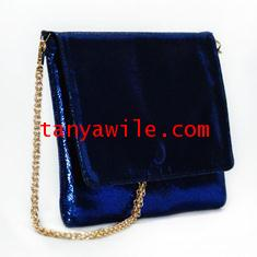 tablet case/clutch and shoulder bag/blue sapphire