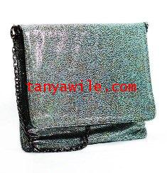tablet case/clutch and shoulder bag/pearl