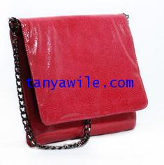 tablet case/clutch and shoulder bag/ruby