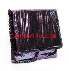 tablet case/clutch and shoulder bag/light purple