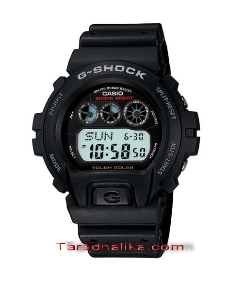 นาฬิกา CASIO G-shock Solar powered G-6900-1DR