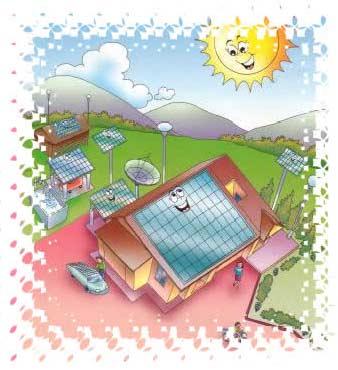 หลักการทำงานของพลังงานแสงอาทิตย์