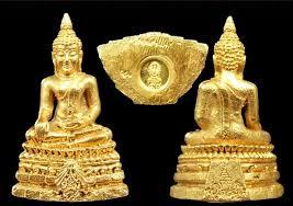พระกริ่งพระพุทธชินสีห์ ทันโต เสฏโฐ 50 ปี คณะทันตแพทย์ จุฬาฯ พ.ศ. 2533