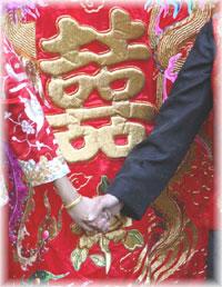 เซฟหิ้วในงานแต่งงานพีธีจีน