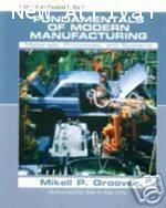 Fundamentals of Modern Manufacturing : Materials,Processes,and Systems ISBN  9780471742920