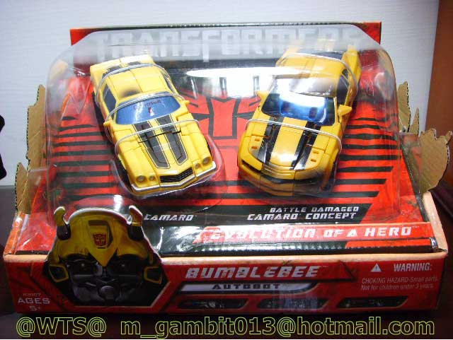 TRANSFOMER DX BUMBLEBEE EVOLUTION OF A HERO  [SOLD OUT]