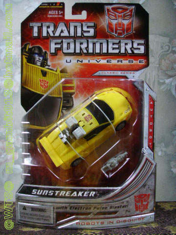 TRANSFORMERS UNIVERSE : DX SUNSTREAKER [RARE] [1]