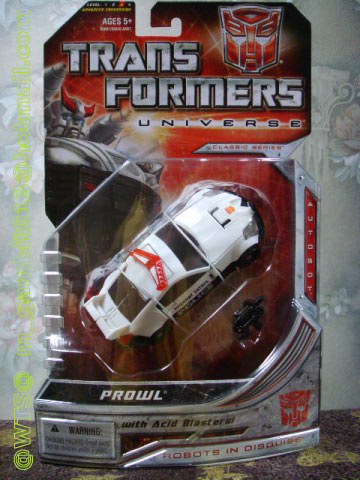 TRANSFORMERS UNIVERSE : DX PROWL [RARE] [SOLD OUT]
