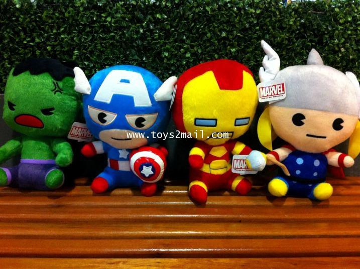 MARVEL AVENGERS : SOFT DOLL AVENGERS ครบชุด 4 แบบ [2]