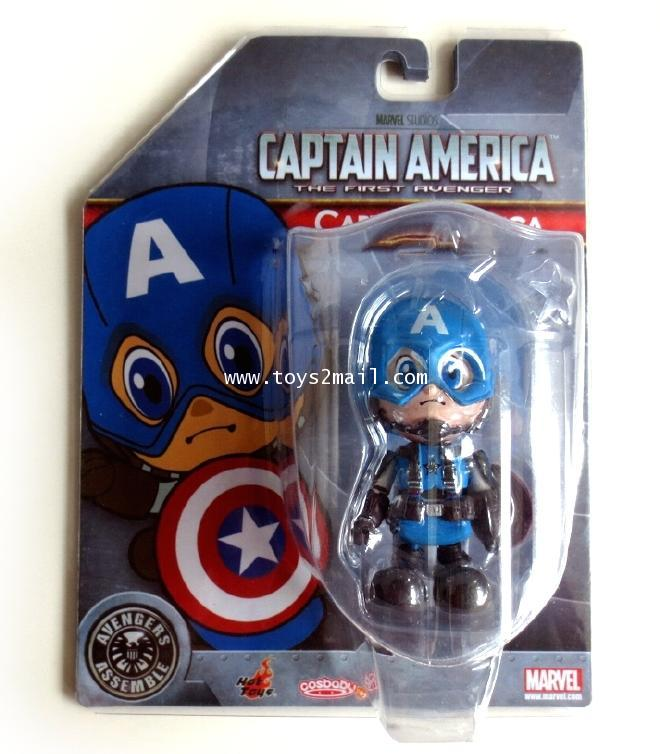 MARVEL : THE AVENGER : HOTTOYS COSBABY AVENGER ASSEMBLE : CAPTAIN AMERICA [SOLD OUT]