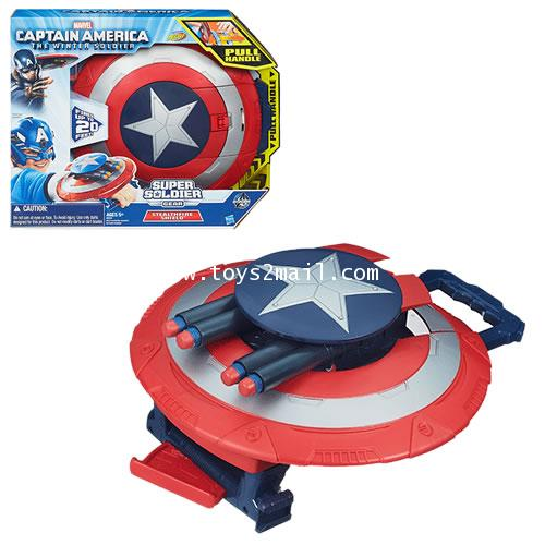 CAPTAIN AMERICA WINTER SOLDIER : CAPTAIN AMERICA SUPER SOLDIER GEAR STEALTHFIRE SHIELD [SOLD OUT]