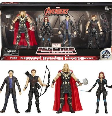 MARVEL LEGEND : AVENGERS Age Of Ultron : 4 PACK AMAZON EXCLUSIVE ชุด 4 แพคพิเศษจากอเมซอน [SOLD OUT]]