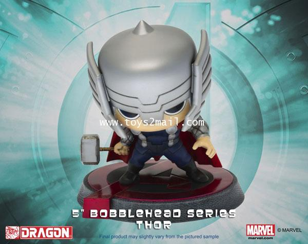 MARVEL AVENGERS Age Of Ultron : HERO REMIX BUBBLE HEAD SERIES : THOR เทพสายฟ้าธอร์ [SOLD OUT]
