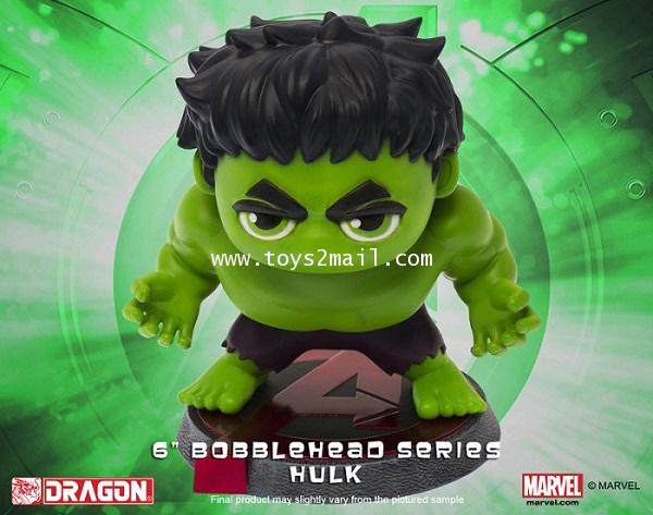 MARVEL AVENGERS Age Of Ultron : HERO REMIX BUBBLE HEAD SERIES : HULK ยักษ์เขียวฮัล จากค่าย DRAGON[3]