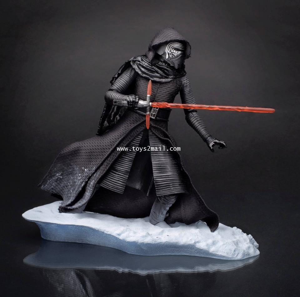 Star Wars Black Series Force Awakens Kylo Ren Starkiller Base 6 Inch Figure