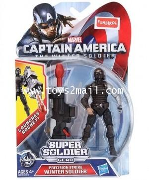 CAPTAIN AMERICA WINTER SOLDIER : PERCISION STRIKE WINTER SOLDIER MLU 3.75 นิ้ว [1]
