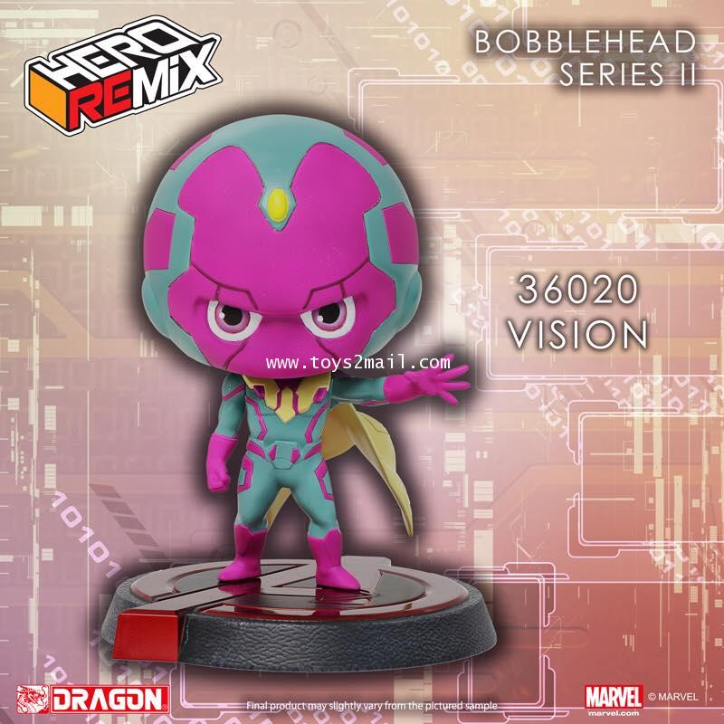MARVEL AVENGERS Age Of Ultron : HERO REMIX BOBBLE HEAD SERIES : VISION จากค่าย DRAGON [SOLD OUT]