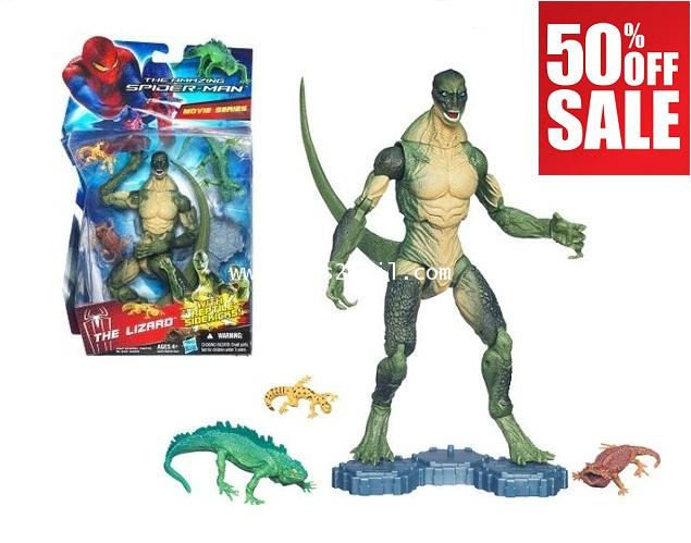 Marvel Universe Toy The Amazing SPIDER-MAN LIZARD REPTILE Series 3.75 in Figure
