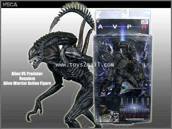 AF: NECA : 7inch ALIENS vs PREDATOR : AVP2 REQUIEM : ALINE WARRIOR ของแท้ 100 [1]