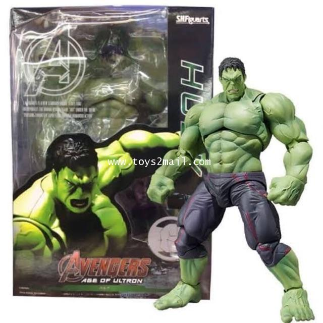 MARVEL Tamashii Nations S.H.Figuarts : AVENGERS AGE OF ULTRON : HULK สินค้าจาก bandai ของแท้ [1]