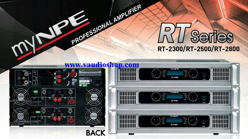 Power Amp My NPE RT-2500 (500Wx2) 1