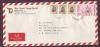 ซองจดหมายลงทะเบียน 197  ส่งไปอเมริกา ติดแสตมป์ 14 บาท ซองโรงแรมดุสิตธานี