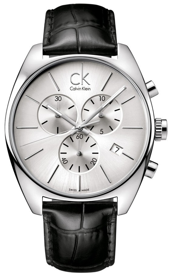 Calvin Klein CK Chronograph Mens Watch K2F27120 ราคาพิเศษ