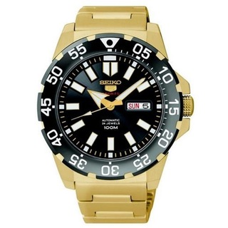 SEIKO 5 Sports Mini Monster Automatic Men\'s Watch รุ่น SRP490K1