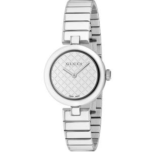GUCCI Diamantissima White Dial Stainless Steel Small Ladies Watch Item No. YA141502